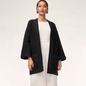 Aritzia Wilfred Wool Brullon Sweater Coat